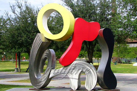 High Quality Outdoor 304 stainless steel garden sculpture for sale