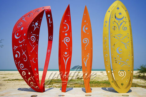 Modern Metal Sculpture with High Quality Stainless Steel for sale